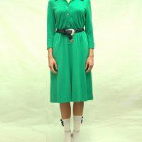 Abito verde vintage '70 1